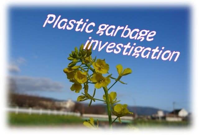 Plastic garbage investigationプラゴミ調査・プチ活動水中の中は? - いげのやま美化クラブ