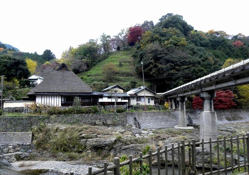 奈良県五條市(旧西吉野村) 堀...
