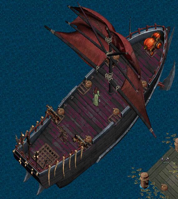 特殊船舶塗料色見本:ヴィンテージ オーク船Ver。