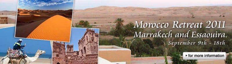 Morocco Retreat…。