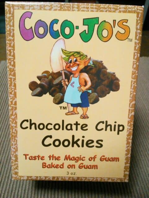 グアムのお土産☆チョコチップクッキー♪