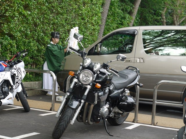 神社 車 お祓い 寒川