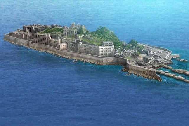 軍艦島未来予測図10年後
