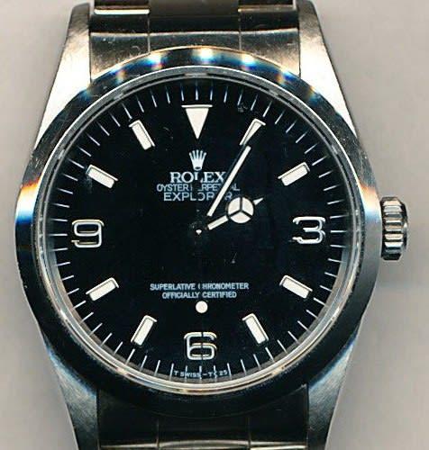 cheap for discount 81706 7117c ロレックス(ROLEX)エクスプローラーⅠ (Ref.114270)の ...