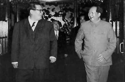 ヒトラーと毛沢東の両者に会った...