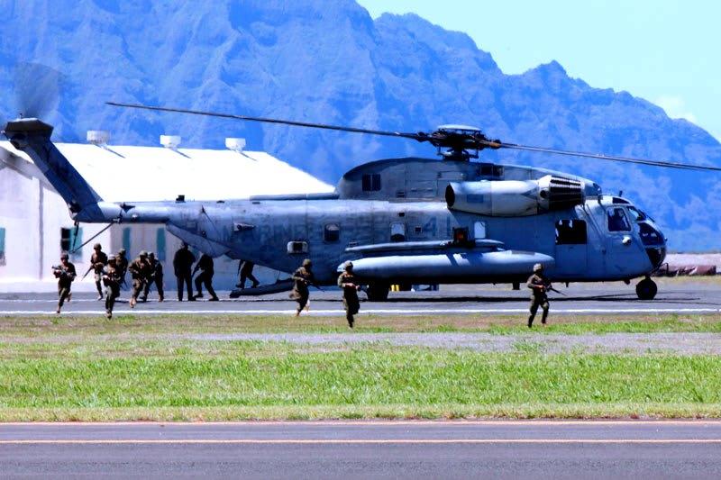 CH-53【岩淸水・米軍装備】大型輸送ヘリ