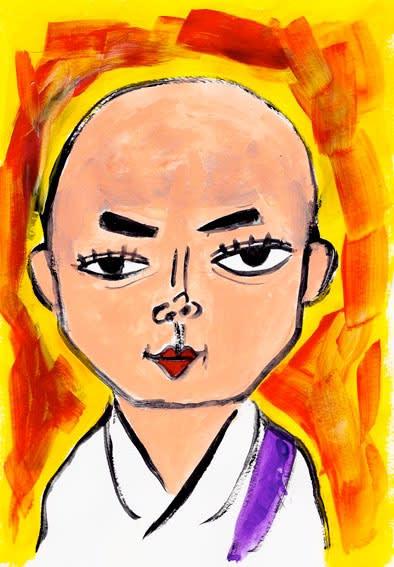 染谷将太 イラスト 似顔絵のmaeda Art Blog