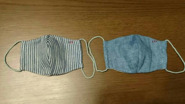 子供 用 手作り マスク 作り方