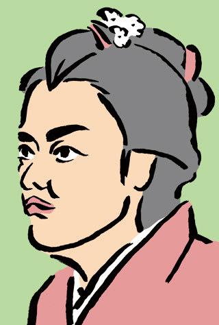 成海璃子の似顔絵