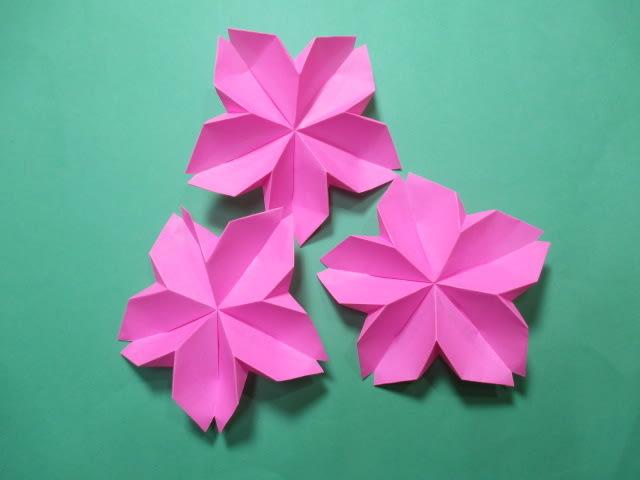 クリスマス 折り紙 折り紙 桜 折り方 : blog.goo.ne.jp