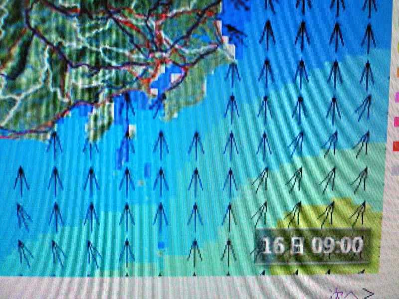 台風で波あり!?