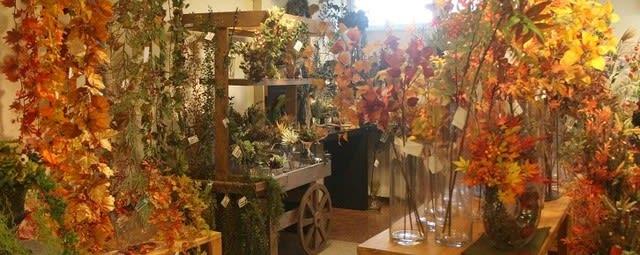秋 フェイクグリーン造花