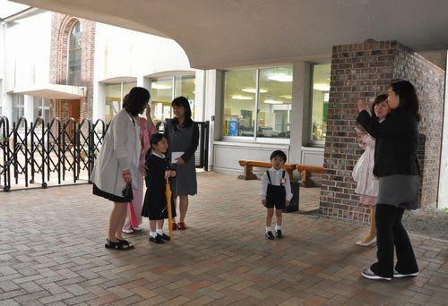 福岡雙葉小学校入学式 - 光の子