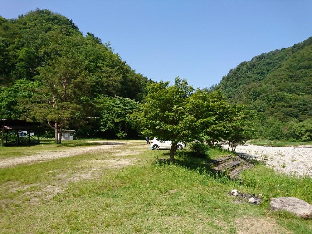 和知野川キャンプ場のご紹介 - 自己満日記