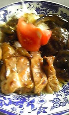 うわっ美味しい『胸肉の梅肉味噌合え炒め』