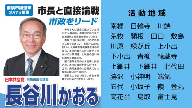 2021 前橋 市議会 議員 選挙