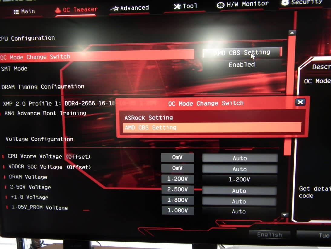 Ryzen 5 2400GでのcTDP35W設定で100W以下になる!? - はぴの自作カフェ 2nd