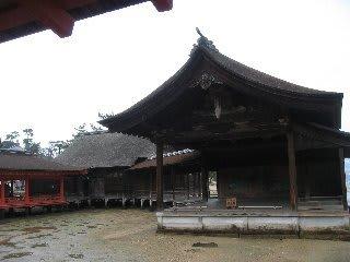 厳島神社 能舞台