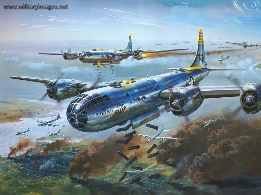 空の要塞・B-29 - 河童の歌声