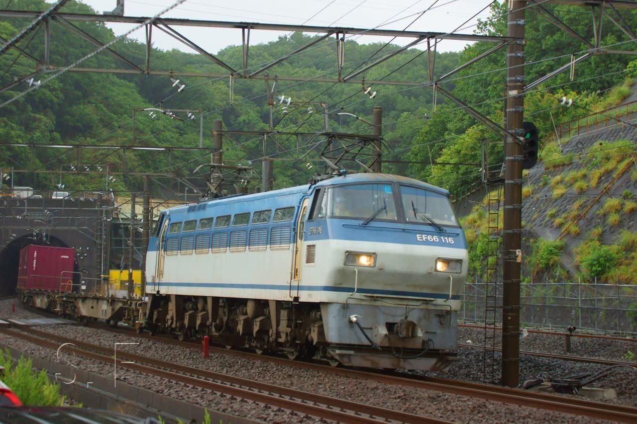 2018年5月9日 東海道貨物線 東戸...