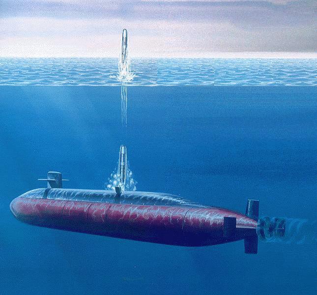 オハイオ級原子力潜水艦