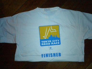 東京シティロードレースTシャツ ...