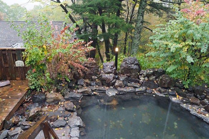 中の湯温泉/露天風呂