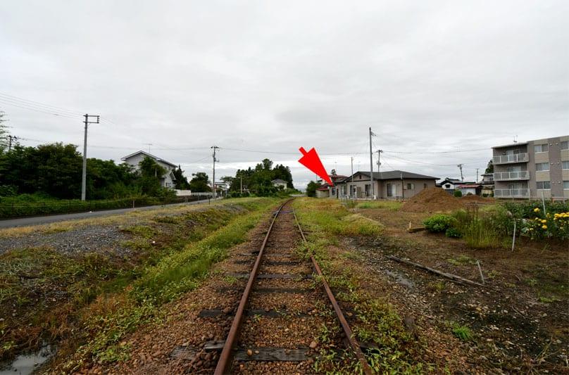 谷地畑駅跡 くりはら田園鉄道 8...