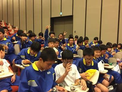 野外活動1日目 - こんにちは!浜松市立曳馬中学校のブログです♪