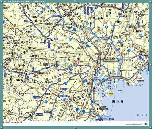 マピオン マピオン、大画面地図「マピオンBB」がドラッグでスクロール可能に