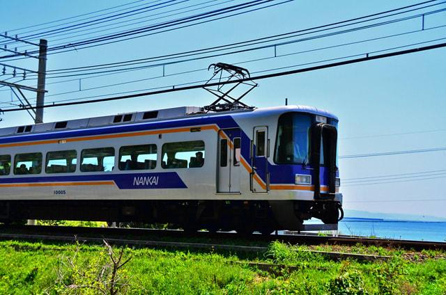 南海10005Fサザン臨時列車~加太...