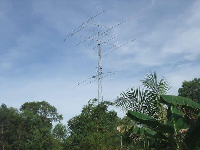 9M6NA Antenna System May 2017