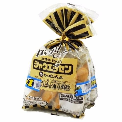ソーセージ 袋 パンパン