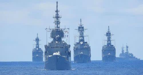 アメリカ海軍英国海軍オランダ海軍,海上自衛隊,大規模広域訓練2021,LSGE21,空母クイーンエリザベス,台湾海軍,戦艦,