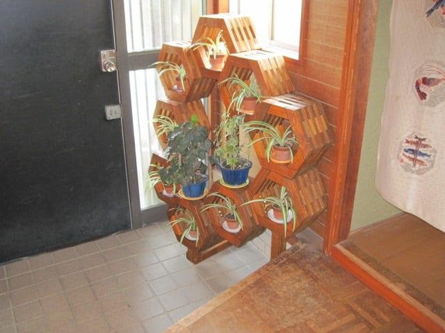 オブジェ棚・玄関に配属の画像
