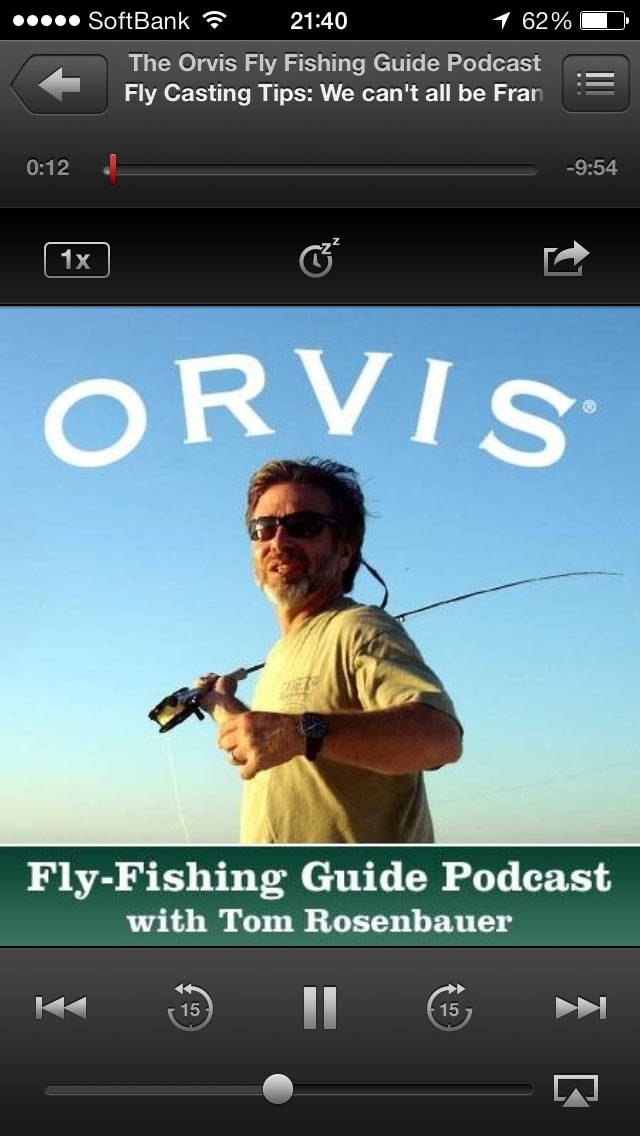 2013 10 3 for Orvis fly fishing podcast