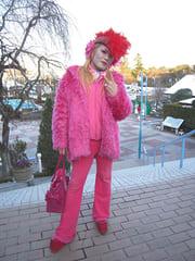 ピンクのゆ〜じ