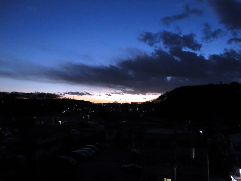 12月29日 青い空