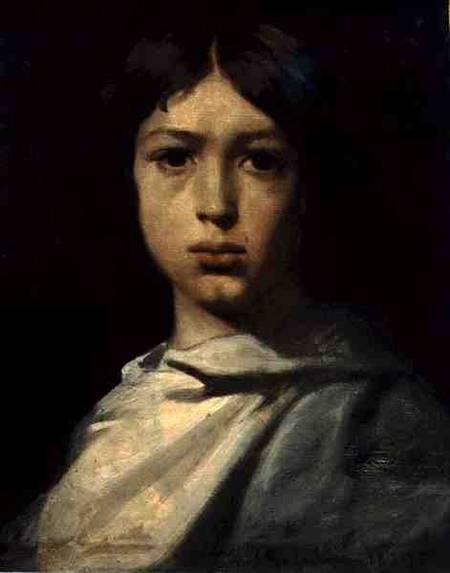 Chasseriau_portrait_young_boy