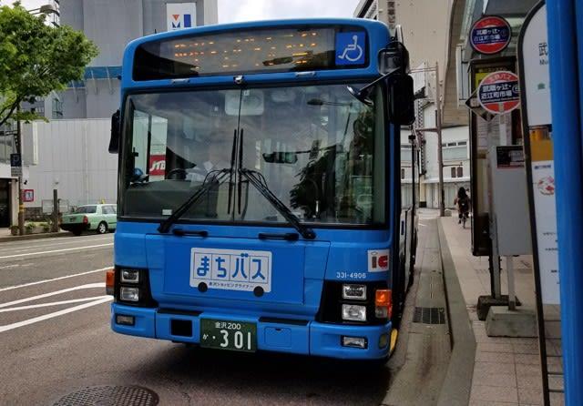 西日本ジェイアールバスが運行する「金沢ショッピングライナー まちバス」