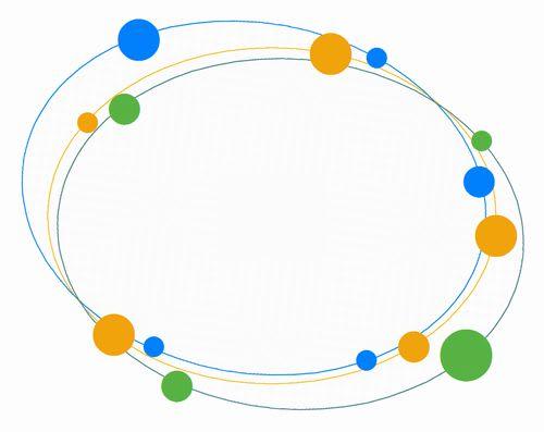三つ輪と丸