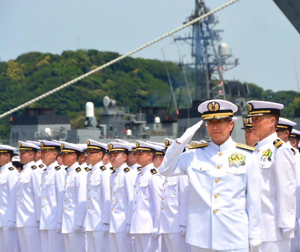 平成29年度日本国遠洋練習艦隊出...