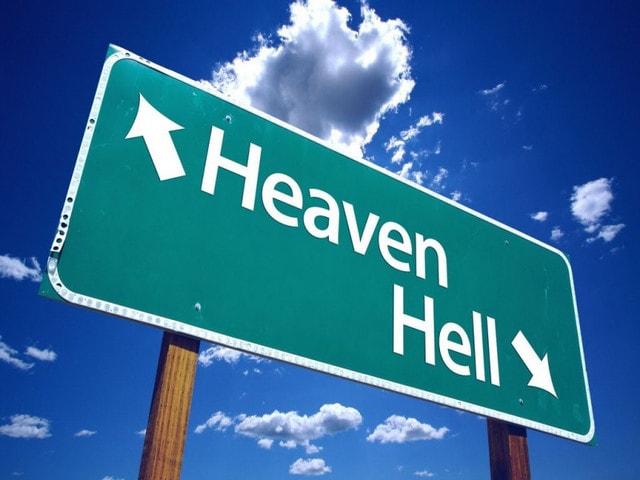 「天国から地獄」の画像検索結果