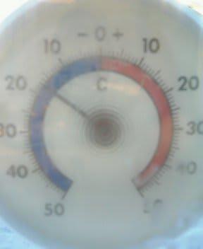 マイナス17℃だぁ