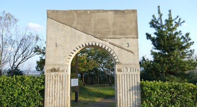 粟崎遊園の門