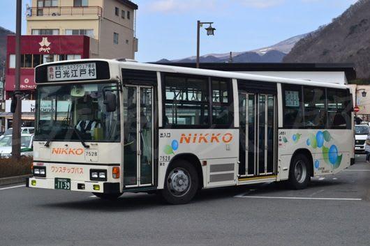 日光交通の元阪東バス - 斬剣次...