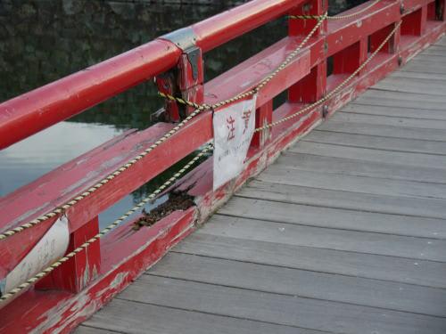松本城 埋橋