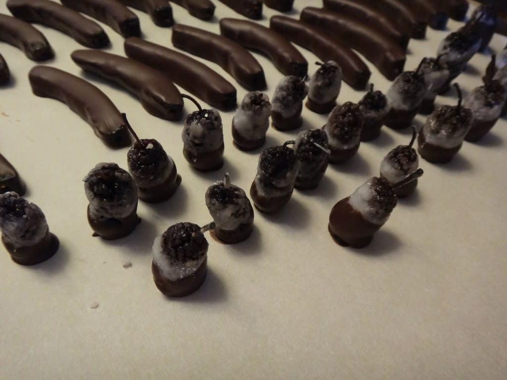 チョコがけピール類