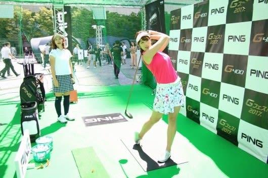 稲村 亜美 ゴルフ