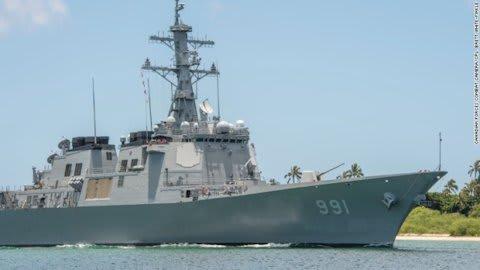 米韓、日本海で合同演習 両軍駆...